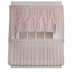 Emelia Window Curtain Swag Valance in Rose