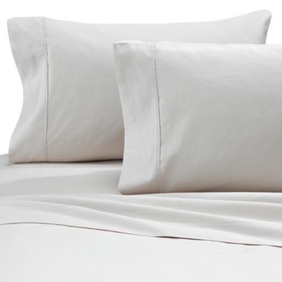 Brookstone® BioSense™ 500 Thread Count King Deep Pocket Sheet Set in Ivory