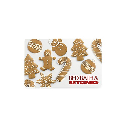 Gingerbread Cookie Gift Card $200.00