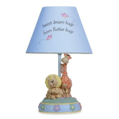 Precious Moments Sweet Dream Hugs from Flutter Bugs Tabletop Lamp