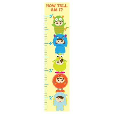 Flavorkids Monster Growth Chart