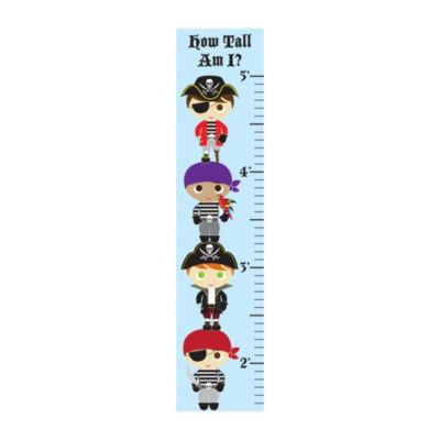 Flavorkids Pirate Growth Chart