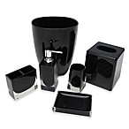 Memphis Lotion Dispenser in Black