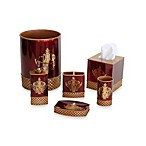 Austin Horn Classics Pacific Coast Montecito Red/Gold Bath Accessories