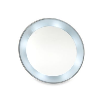 Mirror With Magnifier and Light