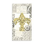 Fleur De Lis Gold Paper Guest Towels (Set of 16)