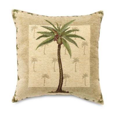 Palm Beach 18-Inch Throw Pillow