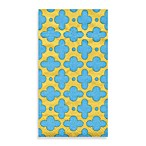 Caspari Tile Turquoise Guest Towels, Pack of 15