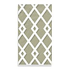 Trellis Taupe Guest Towels, Pack of 15