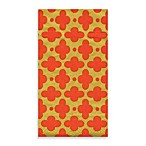 Caspari Tile Coral Guest Paper Towels (Set of 15)