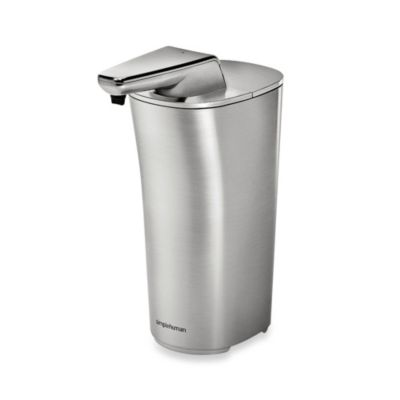 simplehuman® Bath Sensor Pump in Brushed Nickel