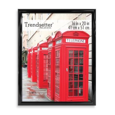 Trendsetter 16-Inch x 20-Inch Poster Frame in Black