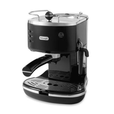 De'Longhi Pump ECO310BK Icona Espresso Maker in Black