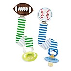Mud Pie™ Sports Icon Pacy Clip