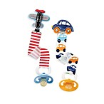 Mud Pie™ Transportation Theme Pacy Clip