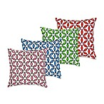 ecoaccents® Rings Cotton Canvas Square Toss Pillow