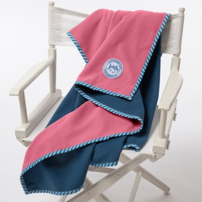 Southern Tide® Reversible Fleece Throw
