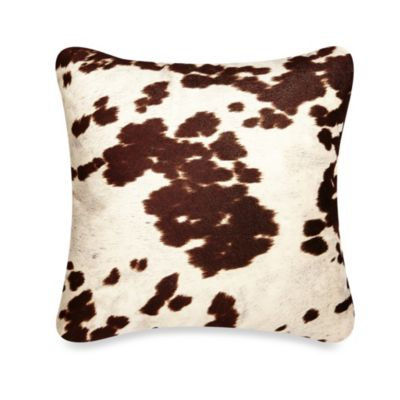 Udder Maddness Square Throw Pillow