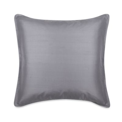 Blissliving® Home Lucca Euro Pillow in Graphite