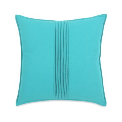 Blissliving® 18-Inch Pierce Turquoise Pillow