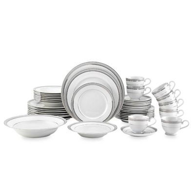 White Multi Dinnerware Set