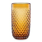 Lenox® Kathy Ireland Ki Coronado 18-Ounce Amber Highball Glass (Set of 4)