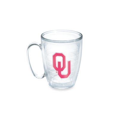 Tervis® University of Oklahoma 15-Ounce Emblem Mug in Neon Pink