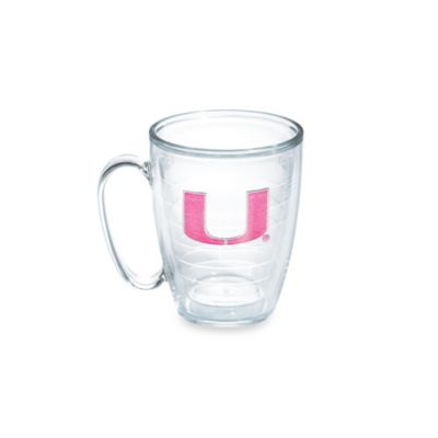Tervis® University of Miami 15-Ounce Emblem Mug in Neon Pink