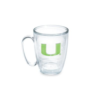 Tervis® University of Miami 15-Ounce Emblem Mug in Neon Green