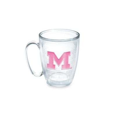 Tervis® University of Michigan 15-Ounce Emblem Mug in Neon Pink