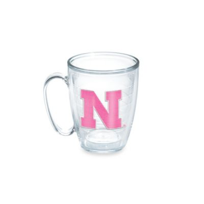Tervis® University of Nebraska 15-Ounce Emblem Mug in Neon Pink