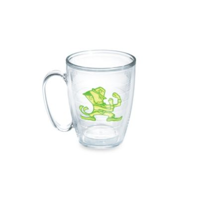 Tervis® University of Notre Dame 15-Ounce Emblem Mug in Neon Green