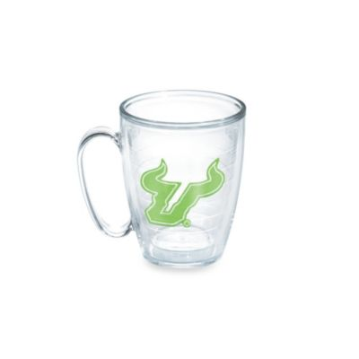 Tervis® University of South Florida 15-Ounce Emblem Mug in Neon Green