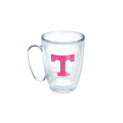 Tervis® University of Tennessee 15-Ounce Emblem Mug in Neon Pink
