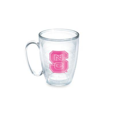Tervis® North Carolina State University 15-Ounce Emblem Mug in Neon Pink