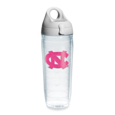 Tervis® University of North Carolina 24-Ounce Water Bottle in Neon Pink