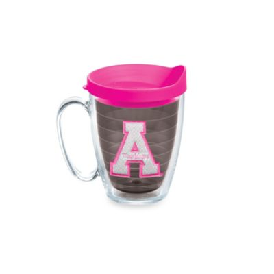 Tervis® Appalachian State Mountaineers 15-Ounce Mug with Lid in Neon Pink