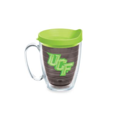 Tervis® University of Central Florida 15-Ounce Colored Emblem Mug with Lid in Neon Green