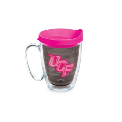 Tervis® University of Central Florida 15-Ounce Colored Emblem Mug with Lid in Neon Pink