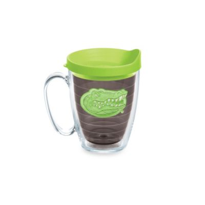 Tervis® University of Florida 15-Ounce Colored Emblem Mug with Lid in Neon Green