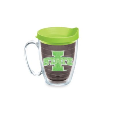 Tervis® Iowa State University 15-Ounce Colored Emblem Mug with Lid in Neon Green