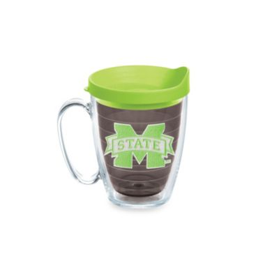 Tervis® Mississippi State University 15-Ounce Emblem Mug with Lid in Neon Green