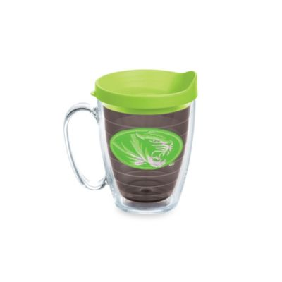 Tervis® University of Missouri 15-Ounce Colored Emblem Mug with Lid in Neon Green