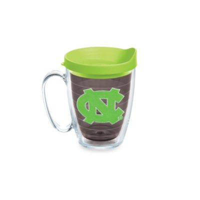 Tervis® University of North Carolina 15-Ounce Colored Emblem Mug with Lid in Neon Green