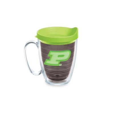 Tervis® Purdue University 15-Ounce Colored Emblem Mug with Lid in Neon Green