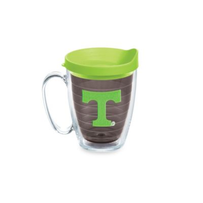 Tervis® University of Tennessee 15-Ounce Colored Emblem Mug with Lid in Neon Green