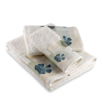 Spa Leaf Fingertip Towel
