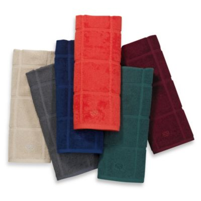 Calphalon Solid Kitchen Towel in Biscotti