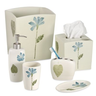 Croscill® Spa Leaf Toothbrush Holder