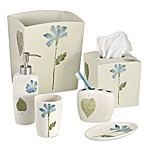 Croscill® Spa Leaf Boutique Tissue Holder